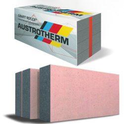 Austrotherm GRAFIT REFLEX - EPS 80 grafitos szigetelés hővédő bevonattal homlokzatra 6-30cm
