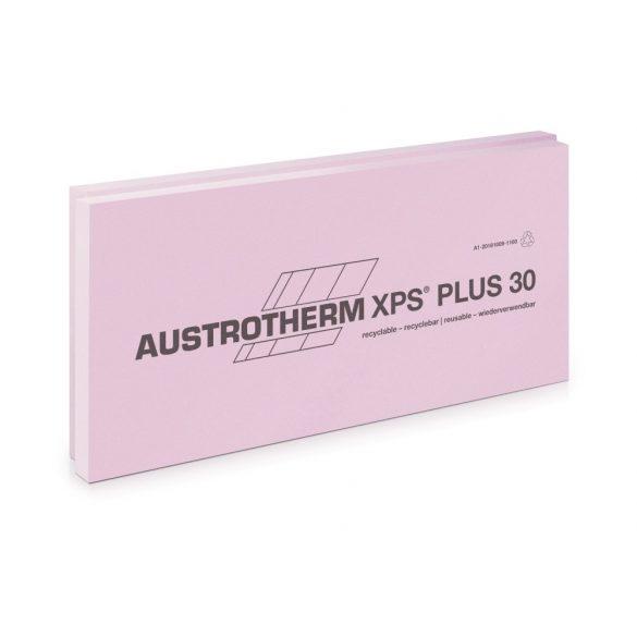 Austrotherm XPS PLUS 30 SF sima felülettel, lépcsős élképzéssel --8 cm