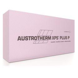 Austrotherm XPS PLUS P lábazati szigetelés sima élképzéssel-bordázott felülettel  8cm - 40 cm