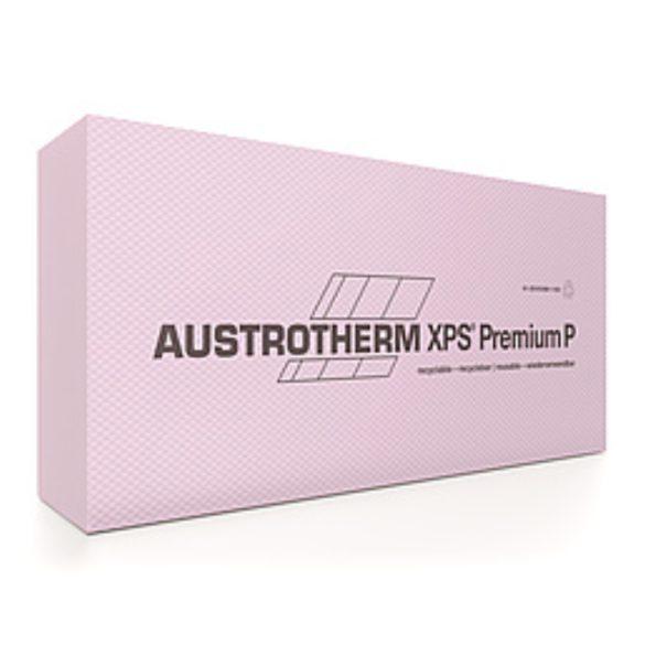 Austrotherm XPS PREMIUM P bordázott felülettel, egyenes élképzéssel  --  16cm