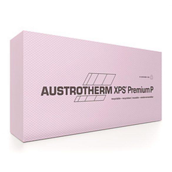 Austrotherm XPS PREMIUM P bordázott felülettel, egyenes élképzéssel  --  24cm
