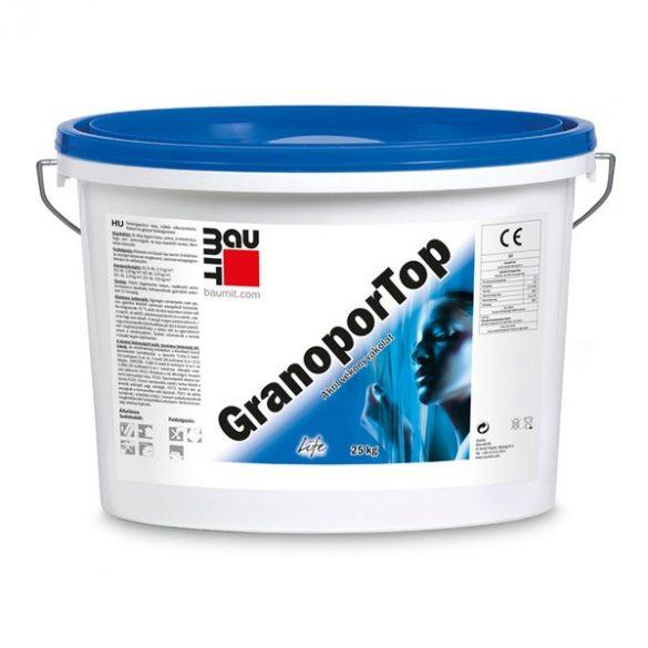 Baumit GranoporTop 2.színcsoport műgyanta kötőanyagú Dörzsölt 3 mm homlokzati vakolat  - 25kg/vödör