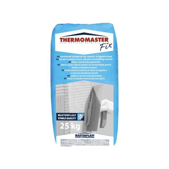 THERMOMASTER FIX ragasztó homlokzati EPS FEHÉR ragasztáshoz - 25kg/zsák