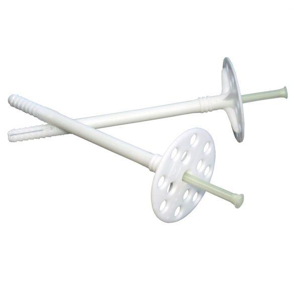 Thermomaster D műanyag beütőszeges dübel -- átm.10mm x 70-220mm