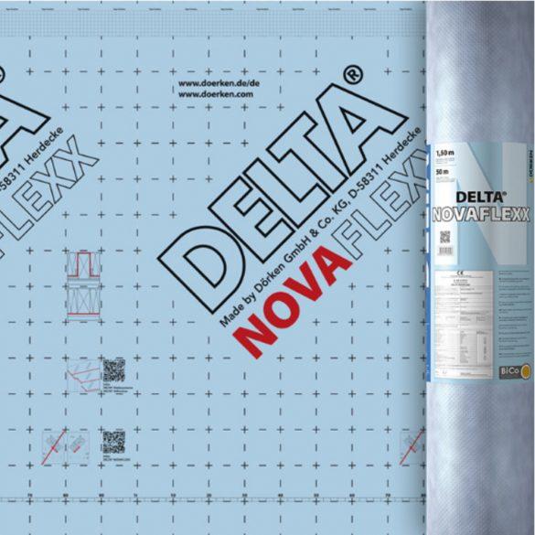 Dörken Delta Novaflexx változó SD értékű párazáró fólia 75m2/tekercs